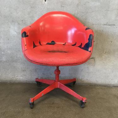 Herman Miller Red Task Desk Chair