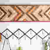 Long Mosaic Wallhanging