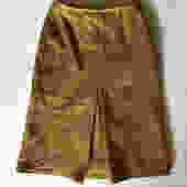 Vintage Mustard Yellow Wool Skirt by DateBait