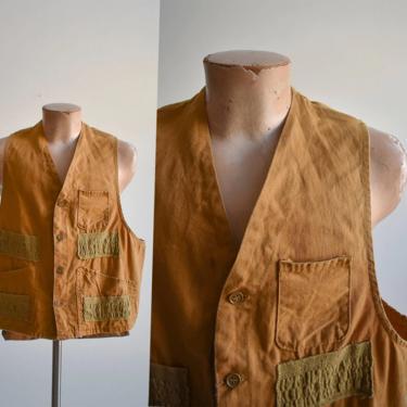 Vintage American Field Hunting Vest by milkandice