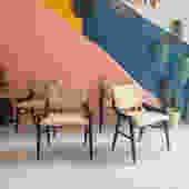 Vintage Chairs w/Original Fabric