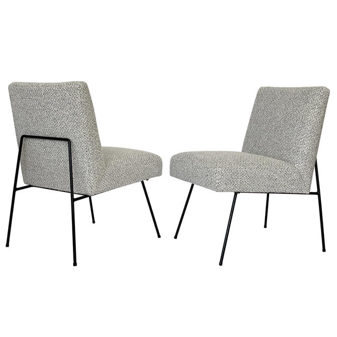 Pair Allan Gould Style Lounge Chairs