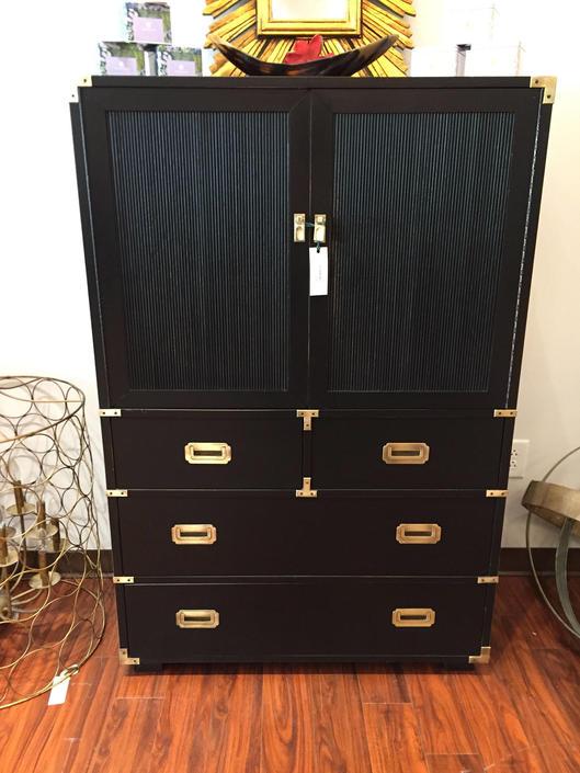 Black Campaign Dresser 6/9 by StylishPatina