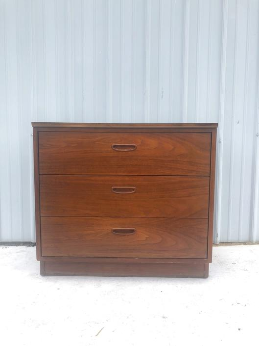 Mid Century Three Drawer Dresser by Lane