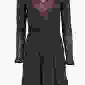 Missoni - Plum Knit Long Sleeve Dress w/ Keyhole Sz 6