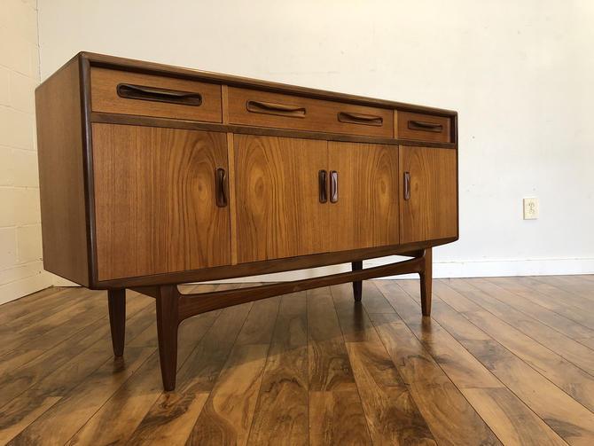 G-Plan Compact Teak Sideboard Buffet by Vintagefurnitureetc