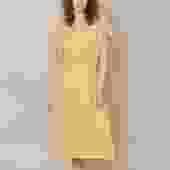 Marissa Organic Cotton Dress - Bronze