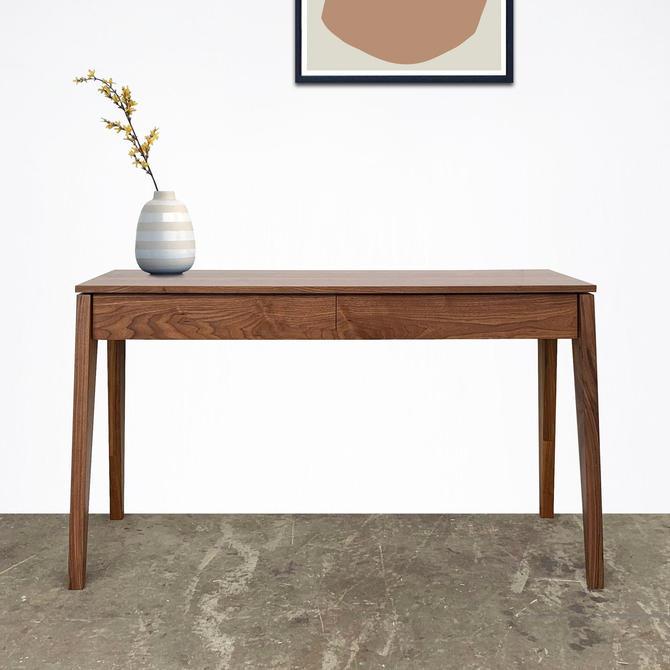 "Solid Walnut Desk - 54"" - The Aimo by STORnewyork"