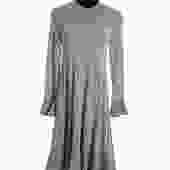 Fendi Slate Blue Viscose Dress