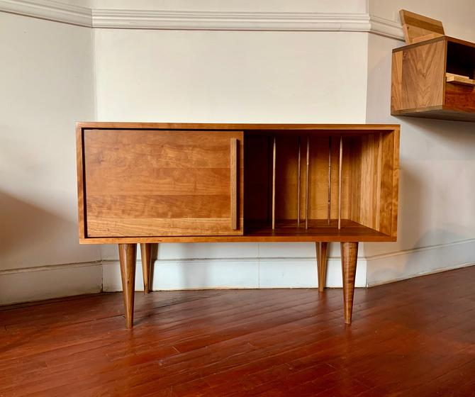 Whitewater Media Credenza - Solid Cherry - Clear Finish - In Stock!!! by STORnewyork