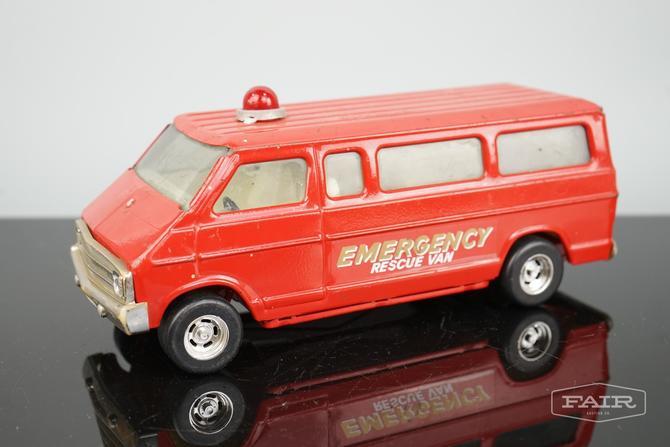 ERTL Toy Emergency Rescue Van