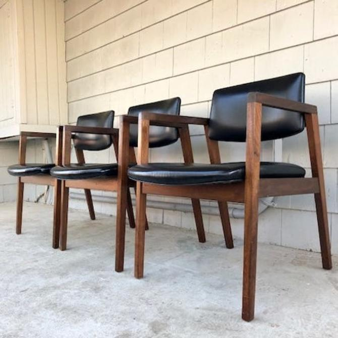Midcentury Arm/Lounge Chairs by Gunlocke