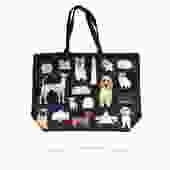 Large Tote Bag  DC Puppy Dogs