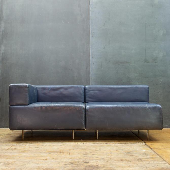 Key City Furniture Leather Sofa