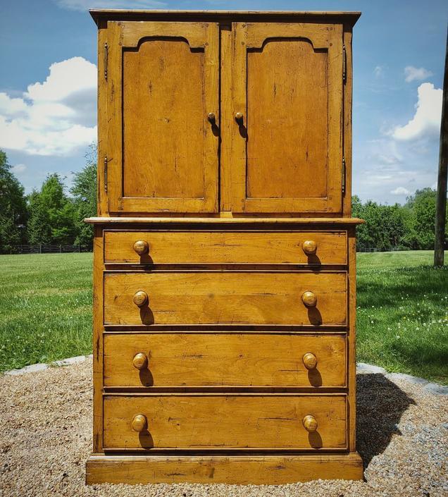 Vintage Media Cabinet