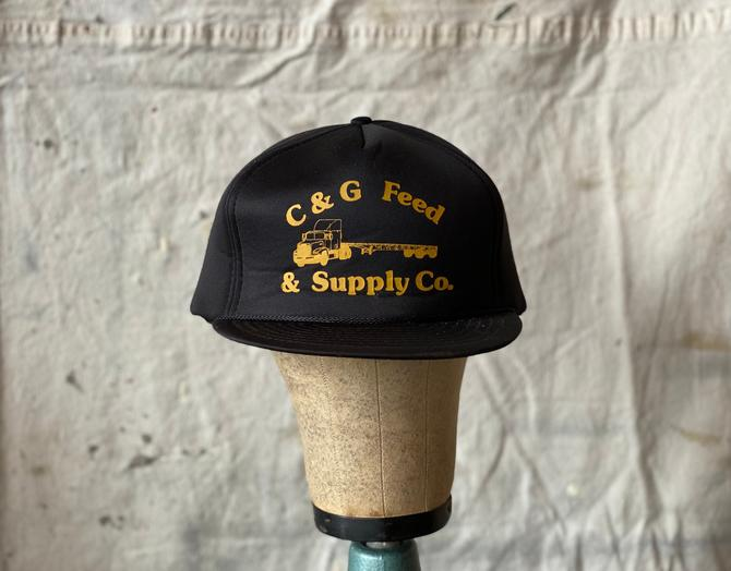 Vintage C & G Feed and Supply Snapback San Sun Hat Jackson, MO by NorthGroveAntiques