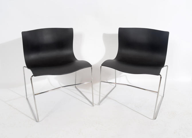Vignelli for Knoll Handkerchief Chairs Mid Century Modern by HearthsideHome