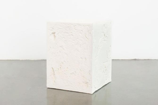 Plaster of Paris Modern Pedestal by HomesteadSeattle