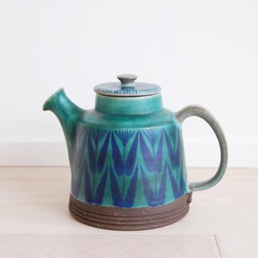 Danish Modern Thomas Toft Art Pottery Tundra Pattern Made in Denmark by MidCentury55