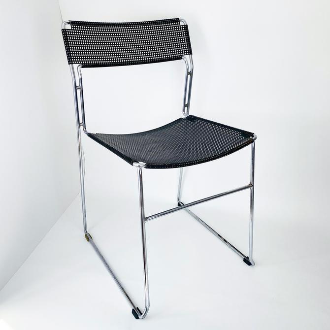Vintage Niels Jørgen Haugesen For Hybodan Grid Chair