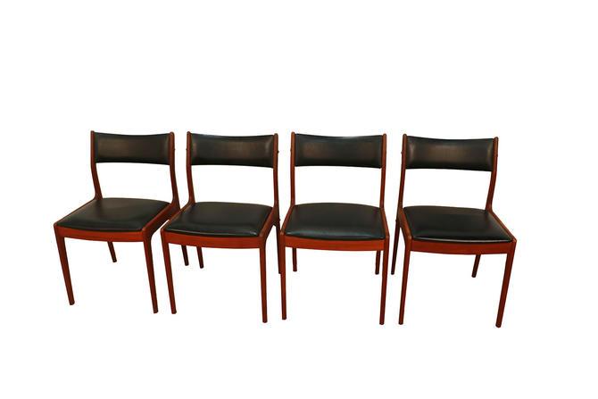 Johannes Andersen Uldum Mbelfabrik Danish Teak Dining Chairs by Marykaysfurniture