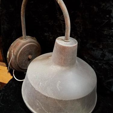 Copper Barn Light Sconce