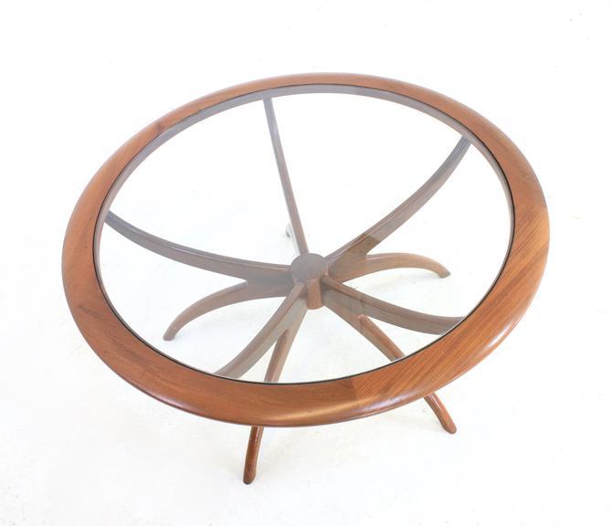 Mid Century Teak Spider Coffee Table by G Plan by SputnikFurnitureLLC