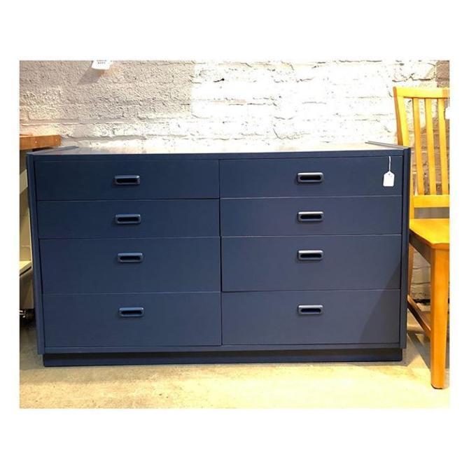 """Low painted chest/dresser 48"""" W x 18"""" D x 28"""" H"""