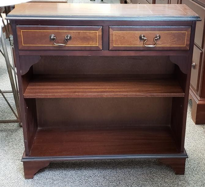 Item #DM171 Vintage Mahogany Bookcase with Drawers c.1950s