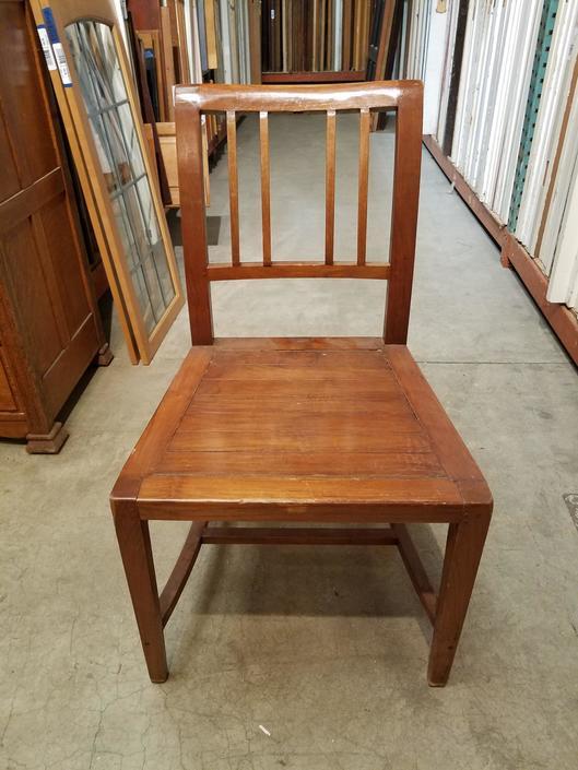 Wood Chair H34.5 x W19.75 x D19