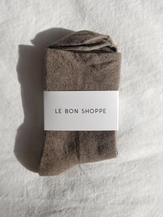 Le Bon Shoppe Sneaker Socks - Cocoa