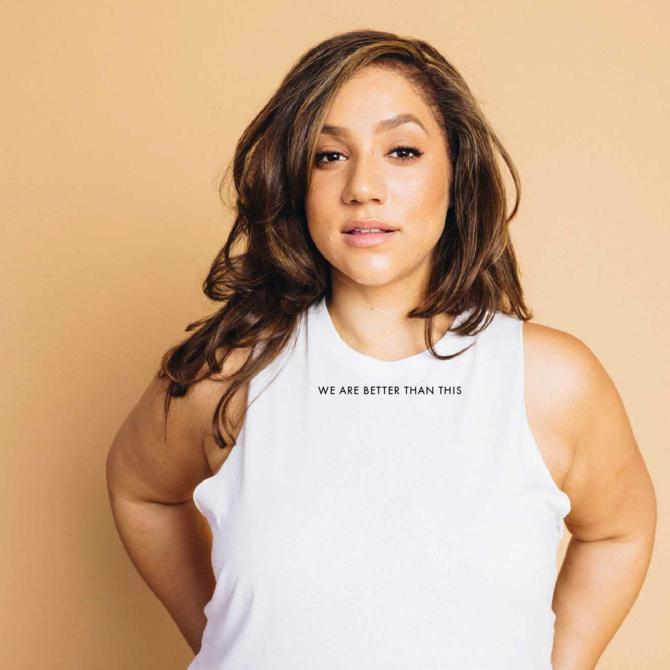 'We Are Better Than This' Cropped Tank