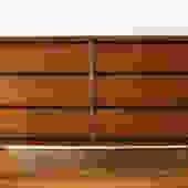 Mid Century Modern Low Dresser Credenza by Bassett