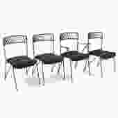 Iron Chairs by Tempestini for Salterini