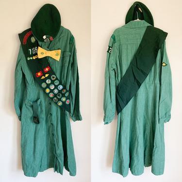 "Vintage 1940s Girl Scout Uniform 5pc set / 25"" waist (lot of 5) by MsTips"