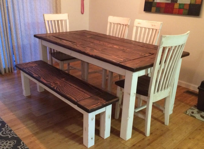 Modern Mission Style Custom Finished Solid Wood