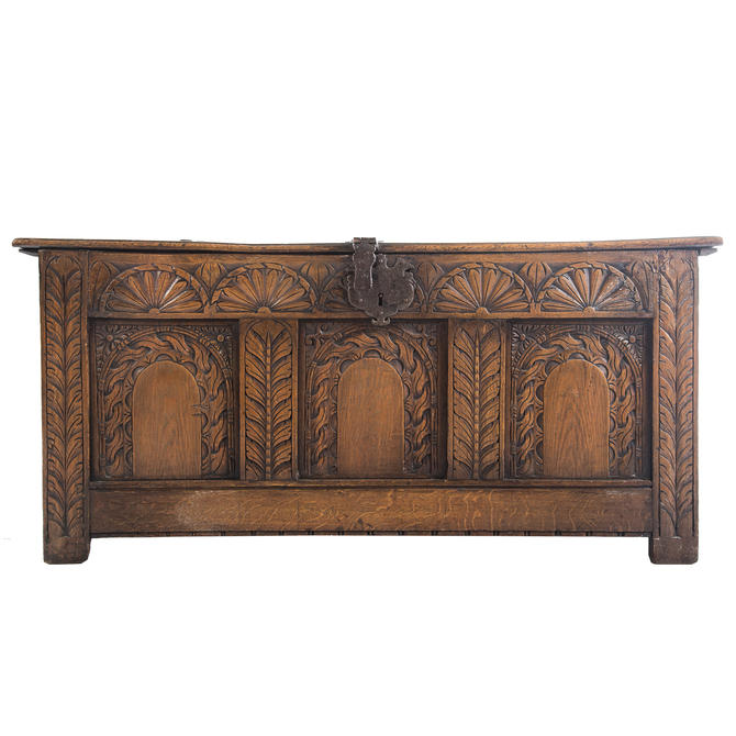 Jacobean Style Oak Coffer