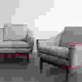 Danish Modern Club Chairs
