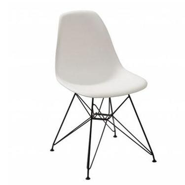 """""""Rostock"""" Chair in White"""