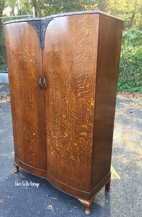 door armoire mirror carved french c walnut antique pin wardrobe single beveled frenchfrenchcountry