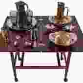 Danish Rosewood Expanding Bar Cart