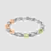 Pave Diamond Link Bracelet