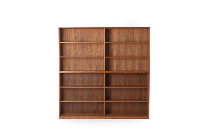 danish modern book cases