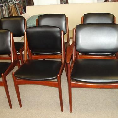 Danish Teak Dining chairs by Arne Vodder by DanishGarage