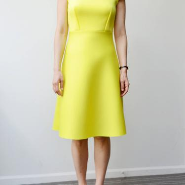 Neon Yellow Dress by shopjoolee