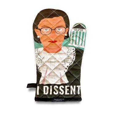 RBG Ruth Bader Ginsburg Oven Mitt – I Dissent