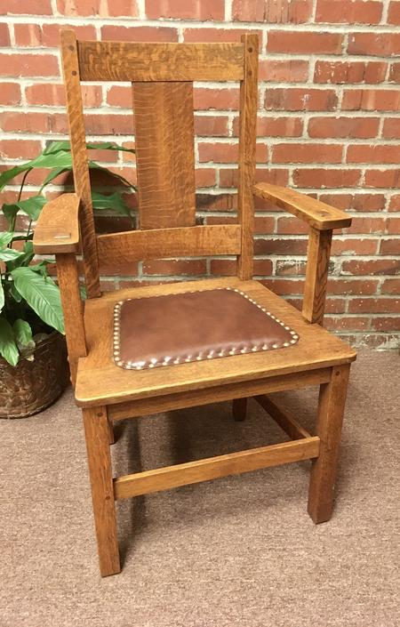Circa 1910 Craftsman Style Arm Chair