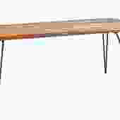 """""""Chambler"""" Live Edge Dining Table"""