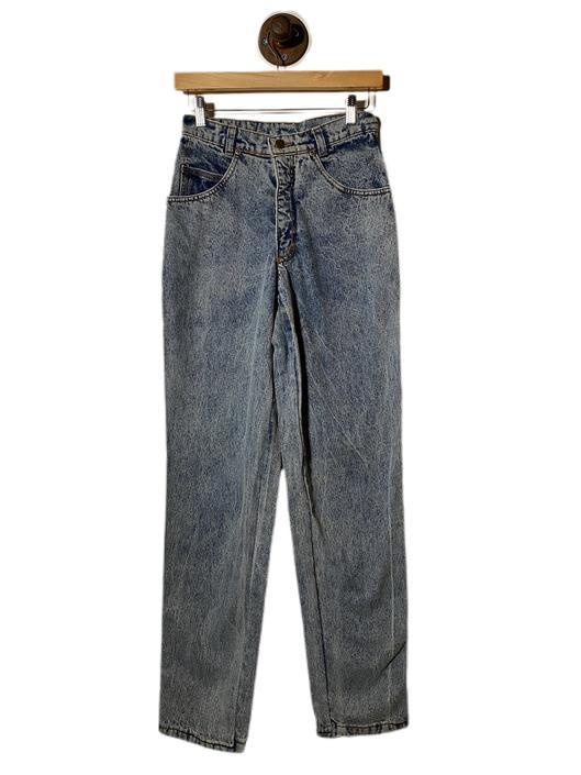 "(26"") Hepta Grey Blue Wash Denim Pants 022221"