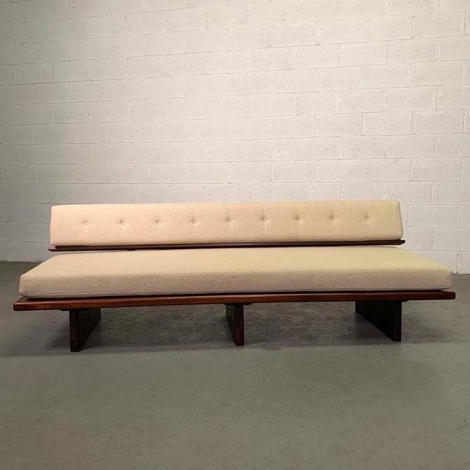Mid-Century Modern Rosewood Platform Sofa